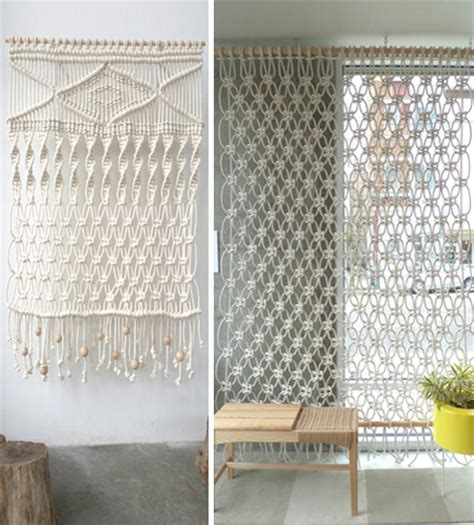 Modern Macrame Patterns - home dzine home decor modern macrame designs