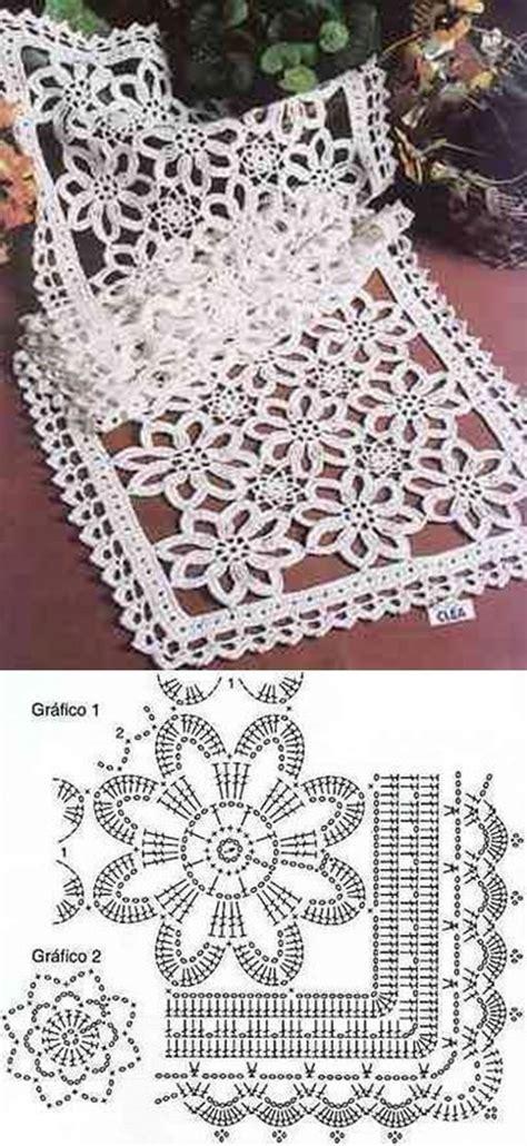 Taplak Meja Motif Table Runner taplak meja crochet household stuffs