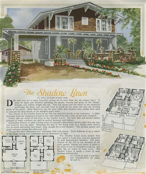 craftsman house plans with porte cochere 1920 house plans swiss chalet bungalow aladdin kit