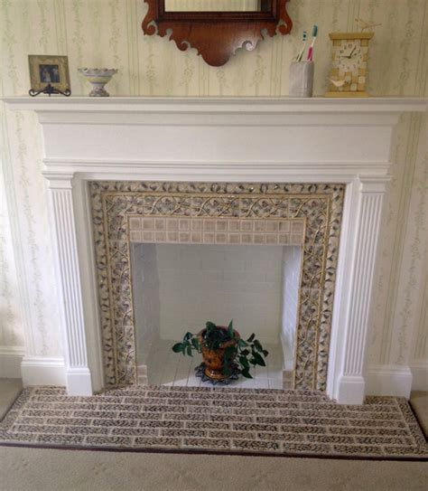 ornamental fireplace decorative fireplace traditional portland by pratt