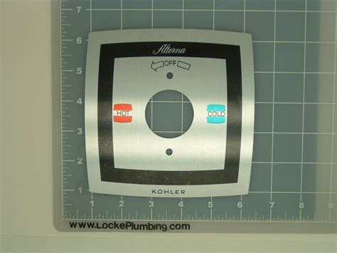 Kohler Alterna Faucet Parts by Kohler Koh 42054 G Alterna Brushed Chrome Plate