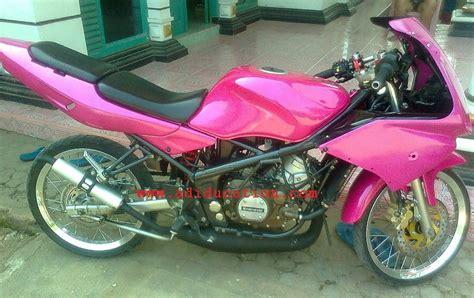 Modifikasi Rr Warna Pink by Modifikasi Motor Indonesia Html Autos Weblog