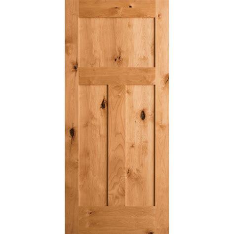 krosswood doors 18 in x 80 in knotty alder 2 panel krosswood doors 18 in x 80 in craftsman shaker knotty