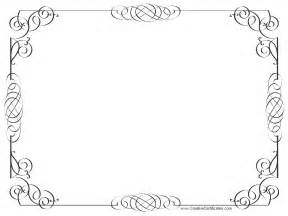 border for certificate template certificate borders