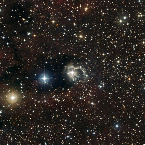 strange star photo strange star system makes its own nebula wired