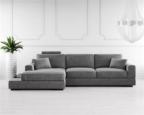 buy gino fabric corner sofa   london uk denelli italia
