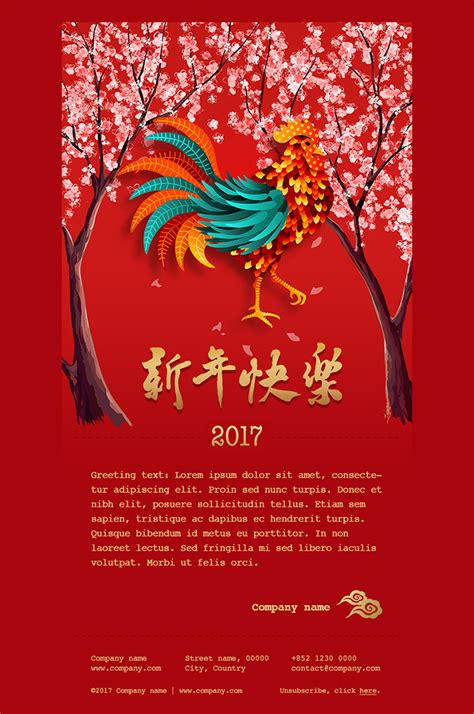 chinese new year card 2017 lianamailer