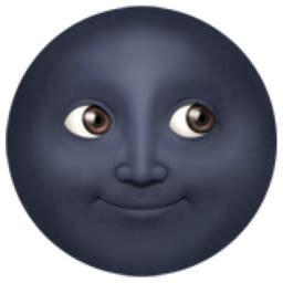 new moon face emoji (u+1f31a)