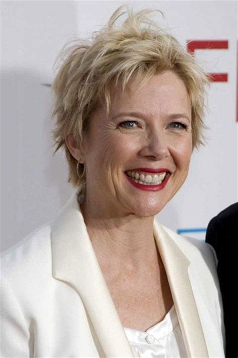 haircuts for 56 year old woman annette bening 56 fabulous at any age pinterest
