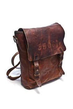 Paket Fashion Styles Brown leather backpack accoutrement