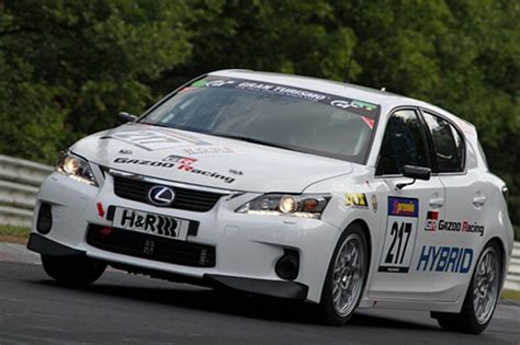 lexus racing car 2011 lexus ct 200h race car by gazoo racing review