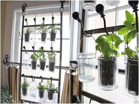 Hanging Herbs In Kitchen Window by 24 Indoor Herb Garden Ideas To Look For Inspiration