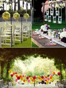 wedding ideas 15 intelligent ideas for an outdoor garden