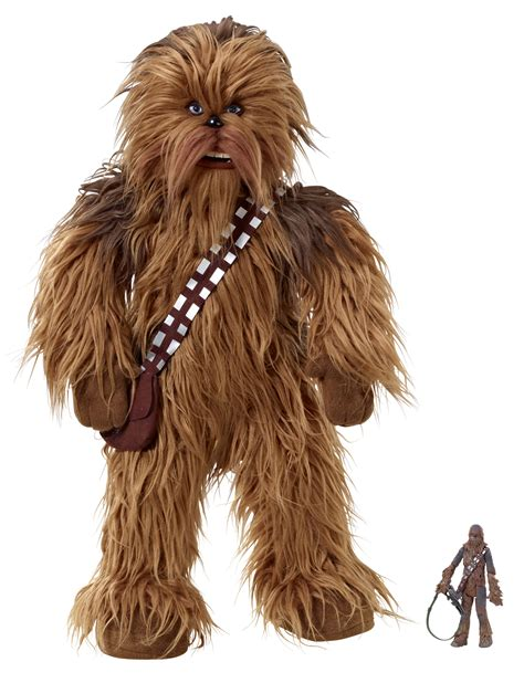 Toys Chewbacca previewsworld sw realistic talking 24in chewbacca plush