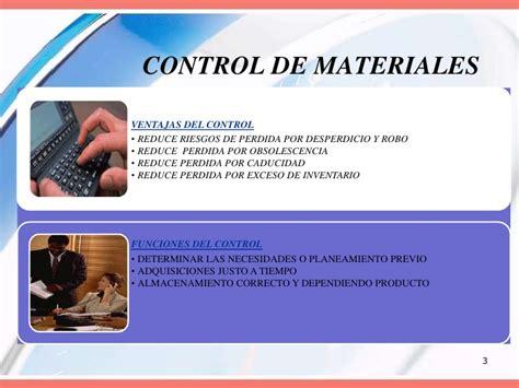 unidad 3 control de la materia prima la materia prima unidad 3 tercero de marketing