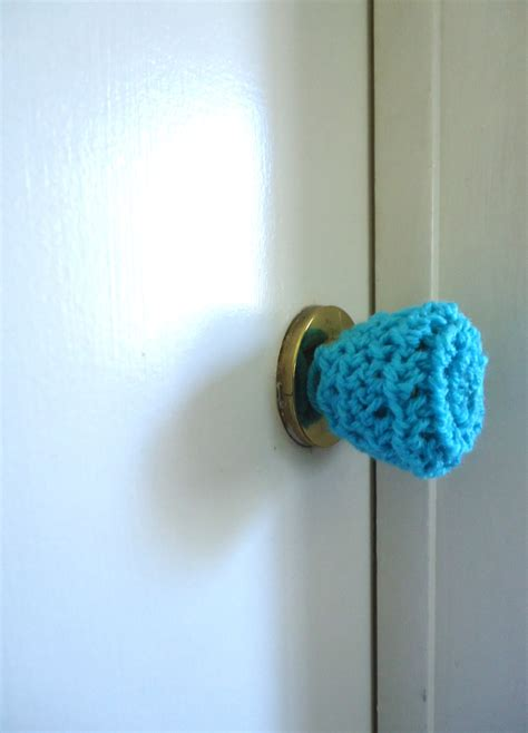 Door Knob Covers by 3 Crochet Door Knob Cover Child Safety Cover By