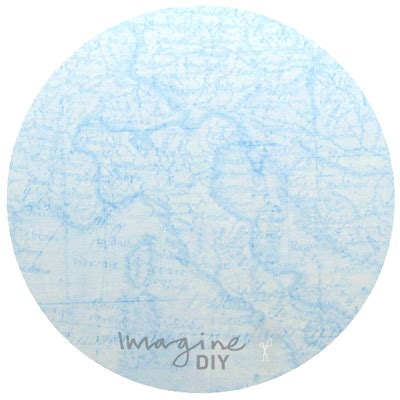 blue craft paper francis vintage map in blue imagine diy