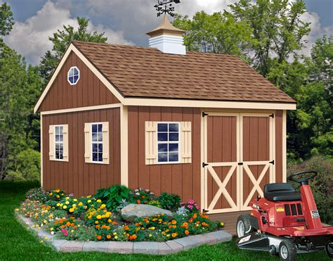 Outdoor Shed Kits Mansfield 1200x940