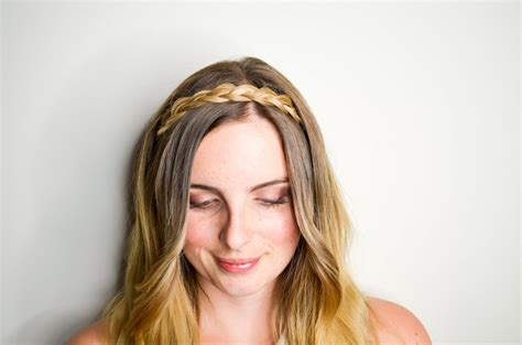 Braid Hair Band easy hairband braid tutorial 187 vancouver style