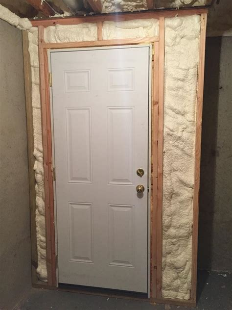 insulated basement door dr energy saver of connecticut home insulation photo