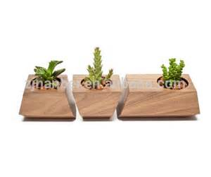 custom modern decorative wooden planter box small wood succulent boxes buy decorative planter