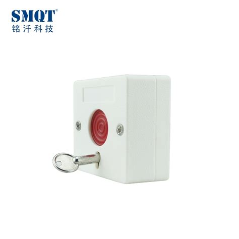 Emergency Exit Panic Button fireproof abs push button key reset switch panic button