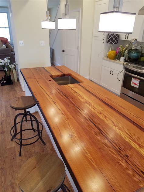 reclaimed wood countertops reclaimed pine island washington dc make maryland