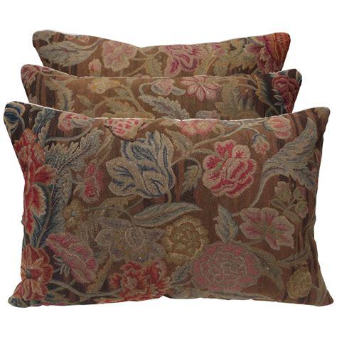 antique needlepoint pillows at 1stdibs