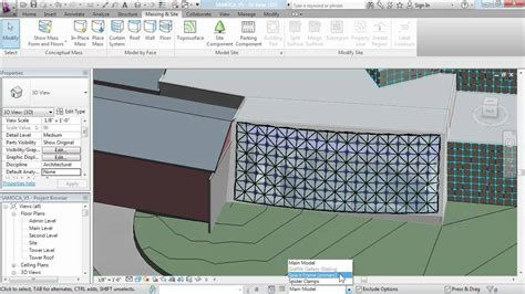 revit wall pattern not showing revit architecture tutorial working with curtain panels