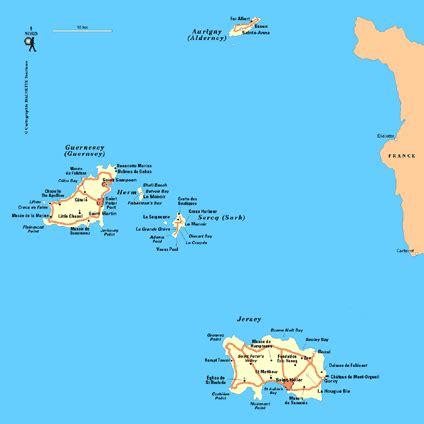 0004490363 carte touristique jersey en carte 206 les anglo normandes plan 206 les anglo normandes