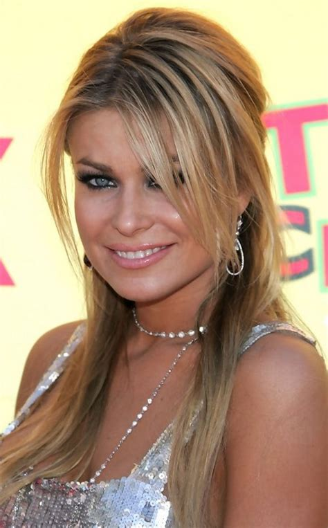 hairstyles with half bangs top 16 carmen electra glamorous hairstyles pretty designs