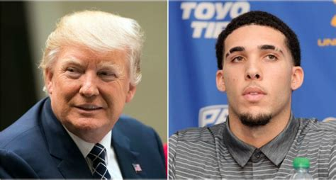 donald trump liangelo ball you ll be shocked to hear that donald trump may have