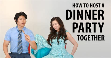 how to host a dinner party how to attend a wedding together