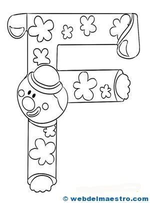 imprimir dibujos con la letra f dibujos con la letra s colouring pages