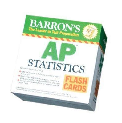 barron s ap computer science a flash cards books barron s ap statistics flash cards by martin sternstein