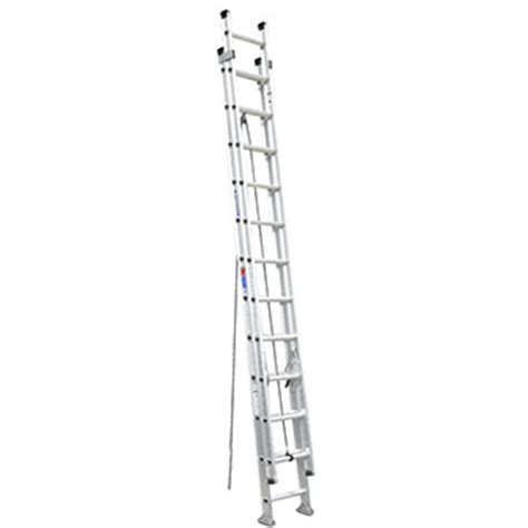 Extension Ladders At Home Depot by Aluminum Extension Ladder 24 Rental The Home Depot