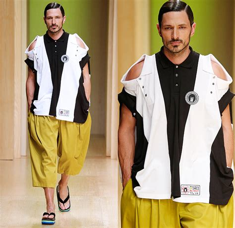 Fashion Misfit Catwalk by Brain Beast 2015 Summer Mens Runway Denim