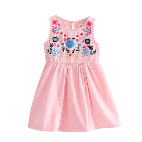 Summer Embroidery Dress toddler baby summer embroidery dress princess