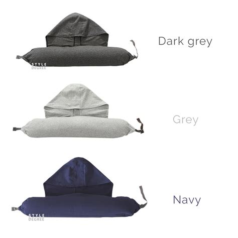 Travel Pillow Hoodie hoodie comfy travel pillow style degree