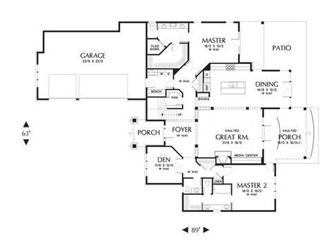 mascord floor plans mascord house plan 2396