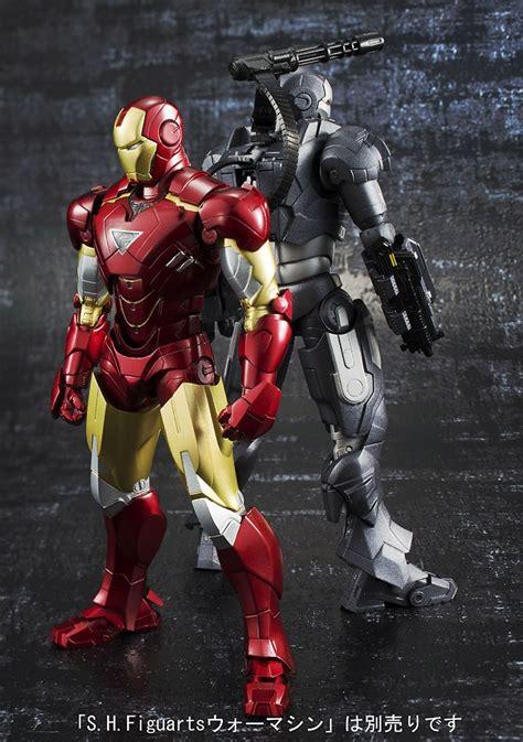 Bandai Shf Iron 2 6 Mk Vi bandai shf figuarts iron vi and war machine