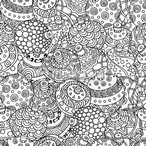 Stabillo Flower Stabillo Motif Bunga 연속무늬 for 색칠놀이 예약 크리스마스 공 벡터 아트 thinkstock