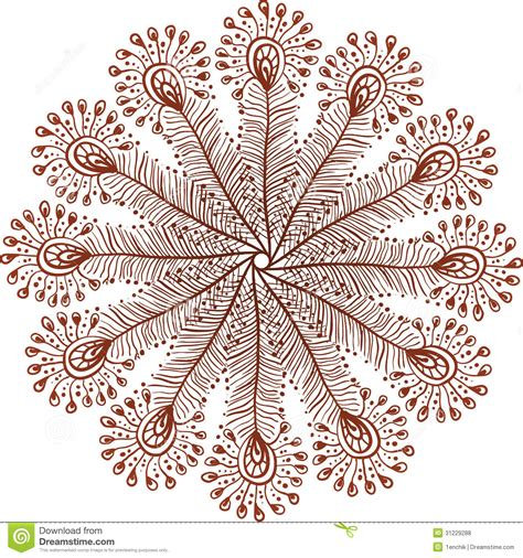 feathers mehndi style vector designs set vector henna henna circle designs on paper makedes