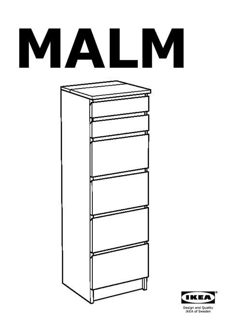 Commode Malm 6 Tiroirs by Malm Commode 6 Tiroirs Plaqu 233 Bouleau Miroir Ikea