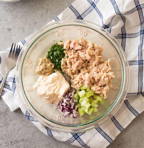 classic tuna salad recipe with eggs classic tuna salad the chunky chef