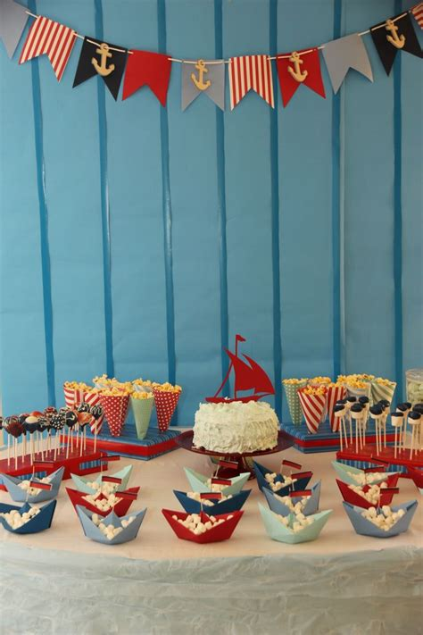 on a boat theme 17 best ideas about boat birthday parties on pinterest