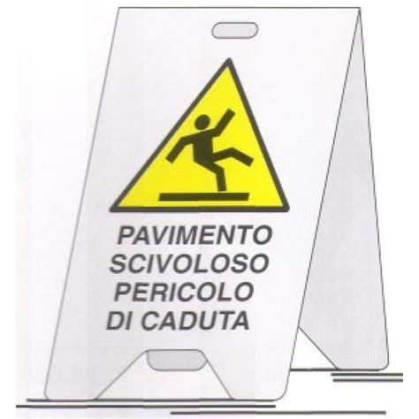 cartello pavimento scivoloso cartello bifacciale pavimento scivoloso 52x32 cm from