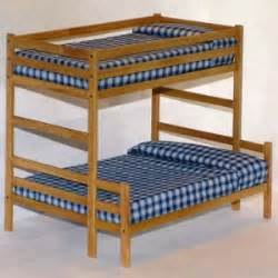 Plans For Building A Twin Over Full Bunk Bed by Bunk Bed Plans Twin Over Full Bed Plans Diy Amp Blueprints