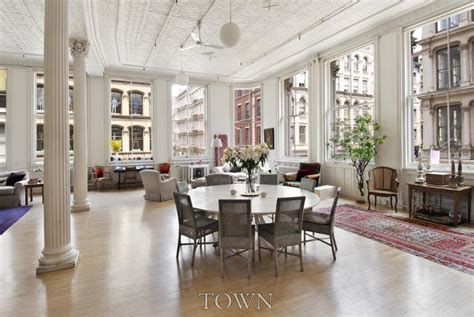 What Color Is Ceiling Paint sprawling soho loft featured in sex and the city lists