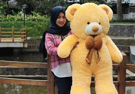 Terlaris Boneka Teddy Beruang Jumbo 75cm harga boneka besar lucu boneka panda besar boneka